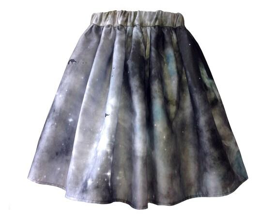 Dark Nebula Skirt. SAMPLE SALE.