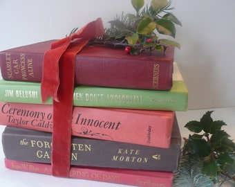Five Fabulous Red Green Books