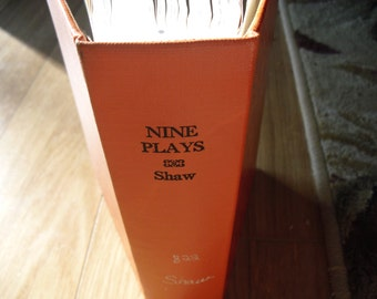 Nine Plays by Bernard Shaw