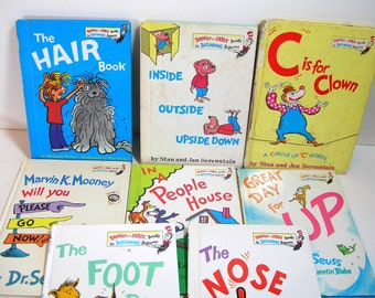 Bright And Early Book Collection For Beginning Readers Vintage Books
