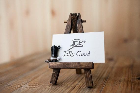 Jolly Good - Letterpress Mini Card