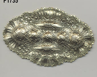 Huge Filigree Findings, 5 Styles, Vintage, American made F3.F824.F1401.F1735.F1736*