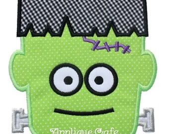 505 Frankenstein Machine Embroidery Applique Design