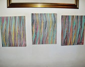 3 hand marbled canvas 9,36