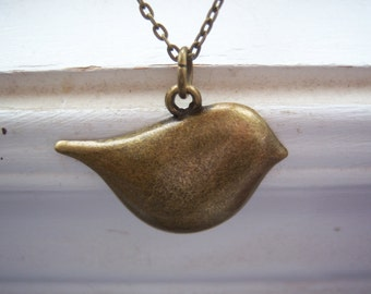 Bird Necklace -Woodland Wedding Necklace - Free Gift With Purchase