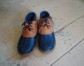 vintage LL Bean Maine hunting shoe size 6