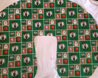 Boston Celtics Baby - Boppy Pillow Cover - Boppy slipcover,Nursing pillow cover, boppy pillow cover, baby shower, gift basketball,nba