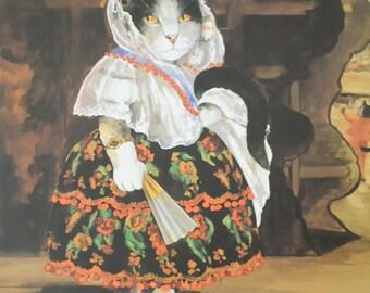 "Gypsy Kitty Manet, ""Lola de Valence"" for cat art lovers!"