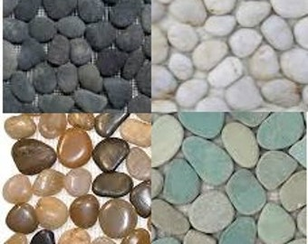Pebble Tile Cabinet Knobs Pulls - Custom Order Requests