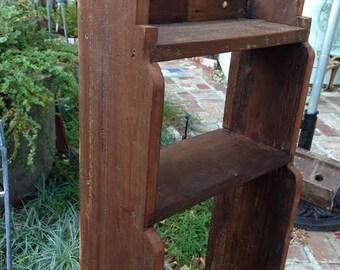 Rustic Wood Furniture - Cabin Decor - Storage - Shelf - Shabby - Cottage Chic - Home & Living - Bathroom - Kitchen - Bookshelving