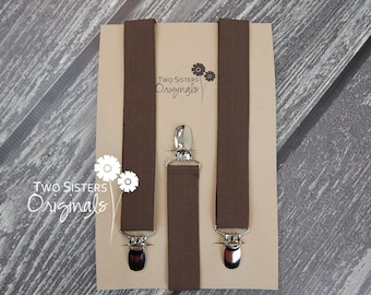 Boy Suspenders - Pick a Color