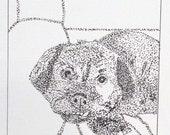 Jake - The Beloved Mutt - Print from Original Illustration