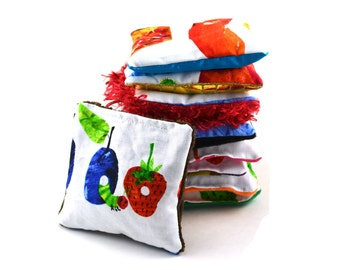 Sensory Bean Bags - Very Hungry Caterpillar