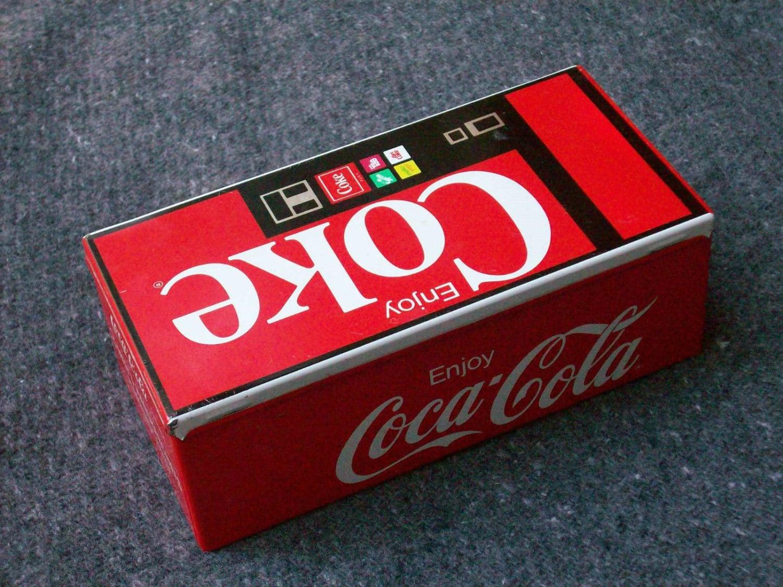 vintage coca cola coin bank