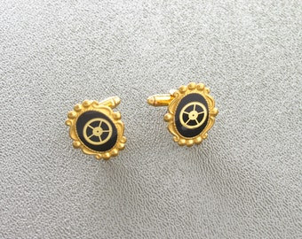 Elegant Steampunk Cufflinks for Fancy Occasions or Flights of Fancy
