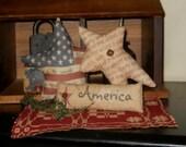 Primitive Patriotic Bowl fillers