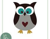 Owl SVG File