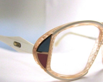 SALE 99 Rare CAZAL  Eyeglasses // Vintage Designer Frames //Germany // Model 187