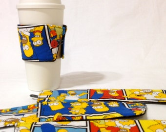 SALE!*!*!*! - The Simpson's Coffee Cozie - *!*!*! 2 for 1 Mix and Match