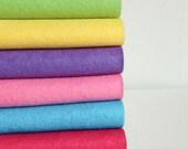 Kool Aid - Wool Blend Felt Sheets - 6 sheets