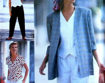 Shorts Suit Sewing Pattern UNCUT Simplicity 8239 Sizes 12-16 jacket top