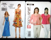 Set of 5 Misses Patterns with Peasant Top, Summer Dress, Jacket, Nightwear, and Coordinates - Size 12-20