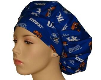 Scrub Hats - University Of Kentucky Wildcats Fabric