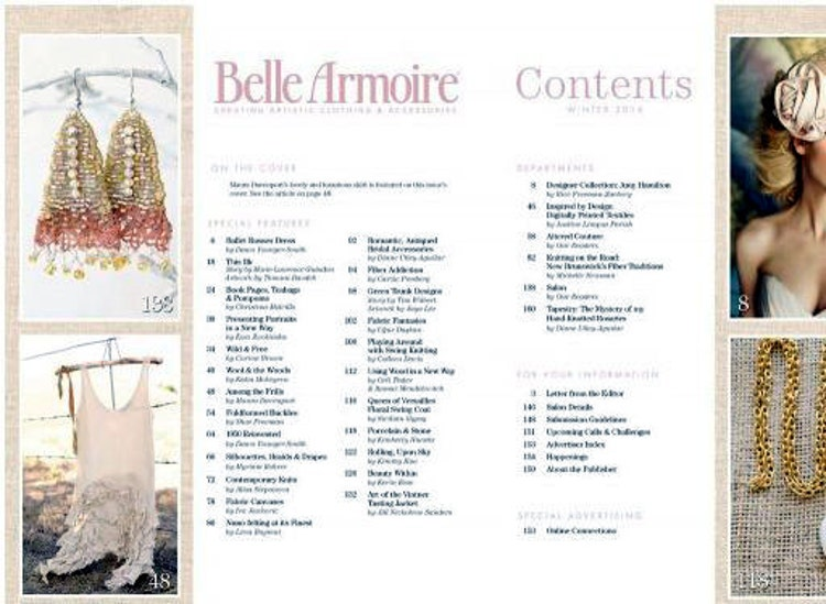 Winter romance Featured in Belle Armoire magazine by ...
