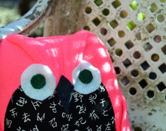Gideon the Pink Owl Plush