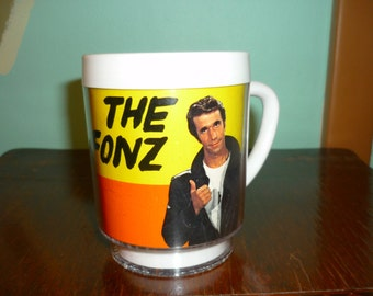 Vintage 1976 The Fonz Mug