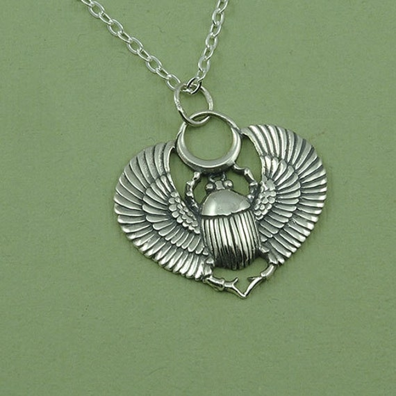 egyptian scarab necklace - photo #5