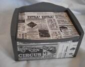 Extra! Extra! Keepsake Box