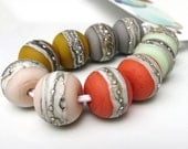 Kaz Baildon Lampwork Earring Pairs - Choose Your Own Palette - SRA UK FH - Made to Order