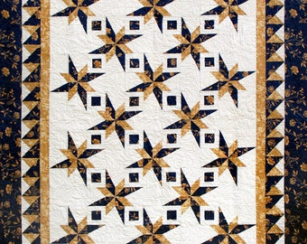 New Year's Star Quilt Pattern