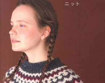 Feminine Knit Clothing, KazeKobo, Japanese Knitting Pattern Book, Women Clothes, Easy Knitting Tutorial, Sweater, Cardigan, Shawl, B1353