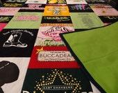 Custom T-Shirt Quilt  STADIUM BLANKET