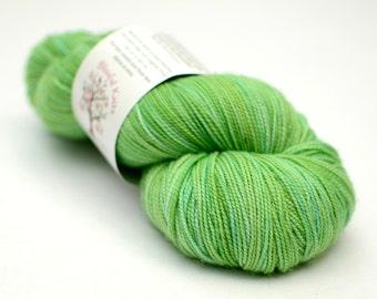 Superwash Merino Sock Yarn- Kettle Dyed - 100g