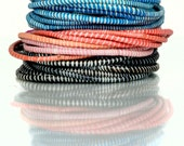 Recyled Flip Flop Bracelets - Pack of 12