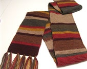 Doctor Who Scarf - scaled down
