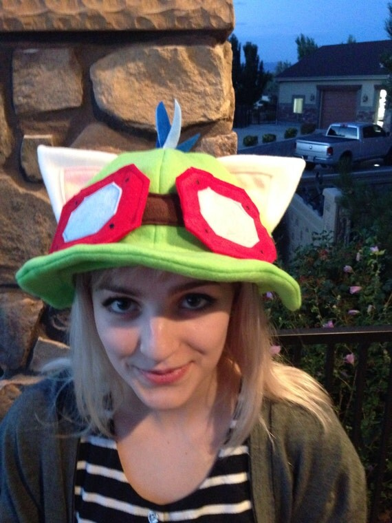 Teemo Fleece Hat  sc 1 st  Online Fanatic & Best Places to Get a Teemo Hat or Rammus Hat [League of Legends ...