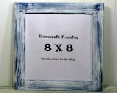 8 X 8 Picture Frame Distressed White Shabby Chic Wedding Photo Frame