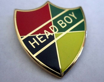Wizarding School Head Boy or Head Girl Badge / Pin
