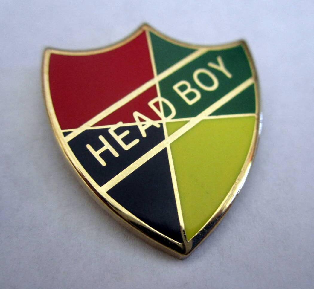 Wizarding School Head Boy Or Head Girl Badge / Pin