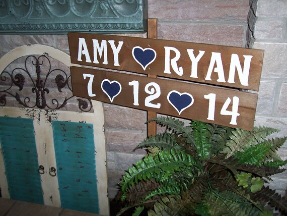rustic yard LARGE beach signs yard rustic   Wedding sign1 wooden decorations Stake  Signs