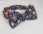 Men's Stars and Stripes Bow Tie