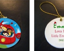 The Little Einsteins Christmas Ornament PERSONALIZED
