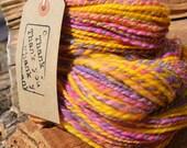 73g of Handpainted, Handspun Shetland Yarn 2 ply - Fruit Loop (batch 347)