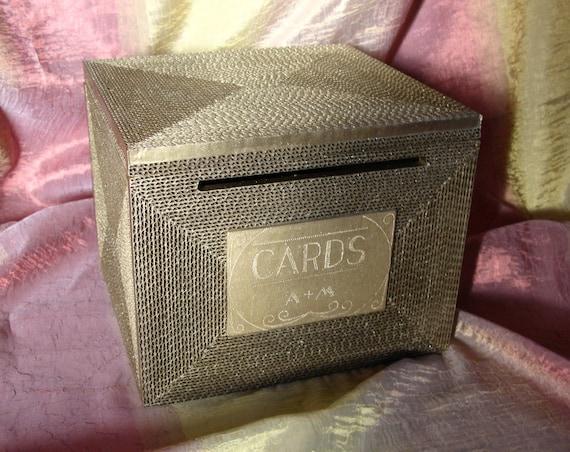 Wedding Gift Card Holder With Lock : ... card box /MEDIUM/ Rustic/Great Gatsby wedding, money gift card holder