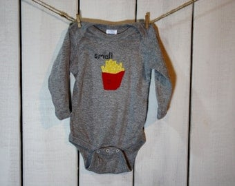 Small Fry Baby bodysuit, funny baby gift
