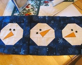 Block of The Month 2014 January's Block, Chilly Silly Snowmen PDF Pattern